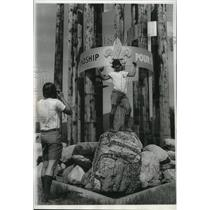 1973 Press Photo Scouts Richard Carpenter and Bruce Armistead - spa26178