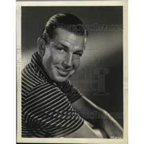 1936 Press Photo Bruce Cabot to debut in Robin Hood of El Dorado - mjx03098