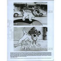 1988 Press Photo Dodger and Oliver in Oliver & Company - cvb75951