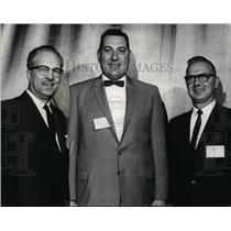 1966 Press Photo Officers of Inland Empire Educ Assoc W.C. Sorenson, J. Thrasher