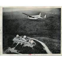1964 Press Photo A C-119 transport plane of the royal Canadian air force