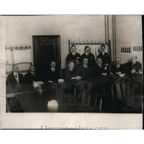 1924 Press Photo Financial experts meet in Council Room in Berlin - nef00755