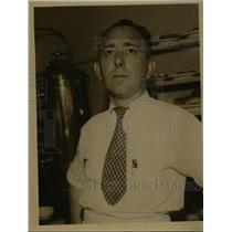 1934 Press Photo Joe Rindler  - nee95026