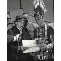 1969 Press Photo Lady Baden-Powell Widow of Scout Founder Robert Baden Powell