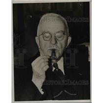 1938 Press Photo Governor Wilbur Cross of Connecticut - nef03193