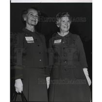 1969 Press Photo National Convention of Girl Scouts Mrs Elliott DeForest