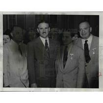 1949 Press Photo Cuban President Carlos Prio Socarras, Fred J. Saddy - nef02740