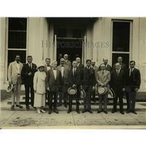 1922 Press Photo Representatives of American Dye Industry visit White House