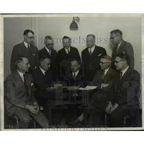 1927 Press Photo Members of The National Lumber Manufacturers Association