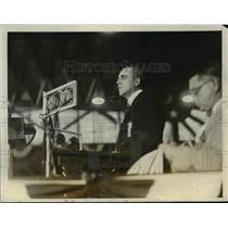 1928 Press Photo J.Bruce Kremer of Montana at Democratic Natl. Convention