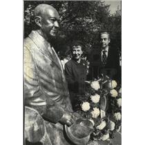 1976 Press Photo Mamie Eisenhower and UN Amb William Scranton - spa26543