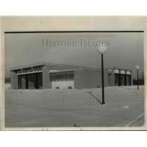 Press Photo New Independence Fire Station in Ohio - nef01755
