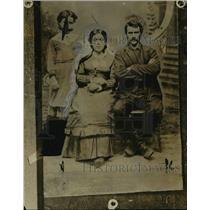 1918 Press Photo Mr & Mrs William Purvis Champion Foster Parents - nef04101