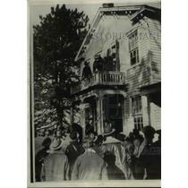 1931 Press Photo Site of Escaped Leavenworth Prison Convicts Last Stand, Kansas