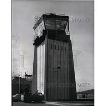 1967 Press Photo Construction of Control Tower at Felts Field - spa22369