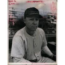 1945 Press Photo Boston Red Sox Skeeter Lamar Newsome a infielder - net09971