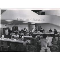 1965 Press Photo Spokane International Airport Terminal - spa23249