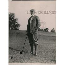 1920 Press Photo Ambassador Sir Aucklhni Geddes at a DC golf course - net12766