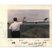 1994 Press Photo Continental Airline - ora99647