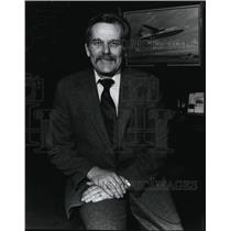 1985 Press Photo Milton S. Kuolt II, Horizon Air - spa23393