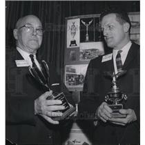 1965 Press Photo Brig Gen Hillford R Wallace pres Wallace Airmotive - spa20872