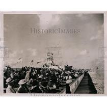 1936 Press Photo Crowd at All American Air races at Miami Florida - net10427
