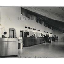 1965 Press Photo Spokane International Airport Terminal - spa28260