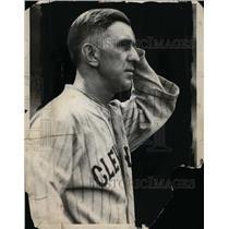 1930 Press Photo Roger Peckinpaugh of Cleveland Indians baseball team