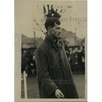 1921 Press Photo Mr Waterhouse at a track meet - net12532