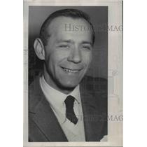 1956 Press Photo Rudi Gruhn General Sales manager Beechcraft Airplanes