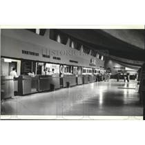1979 Press Photo Spokane International Airport Terminal - spa28228