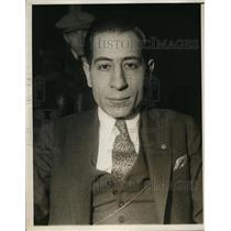 1930 Press Photo Joe Falcaro Match game bowling champion - net13534