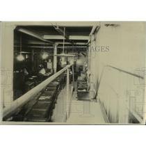 1925 Press Photo Oregonian composing room - orc17734