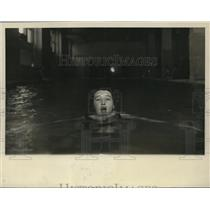 1927 Press Photo Scotty Waters Intercollegiate breadtstroke champ of Temple U