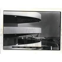 1980 Press Photo Spokane International Airport Parking Garage - spa22022