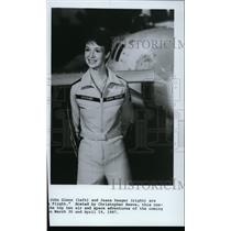 1987 Press Photo Airplane Pilot Jeana Yeager - spp01403