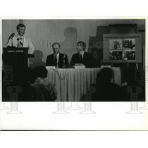 1989 Press Photo Boeing Spokane Plant Manager Phil Kelly - spa27284