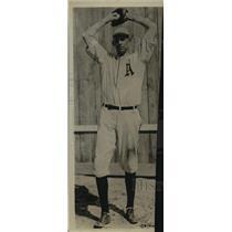"1924 Press Photo Bryan ""Slim"" Haris Pitcher Philadelphia Athletics - orc18572"