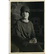 1926 Press Photo Madame Noury Wife of Kirza Noury Esfandiary Khan  - ney11056