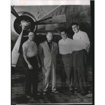 1954 Press Photo Pilot Stanfiel Skeeter Whiteley - spa27630