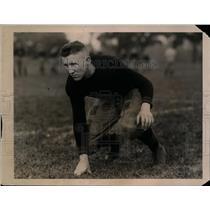 1922 Press Photo Denny Mulligan captain of Army football team - net09280