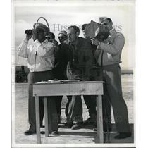 1942 Press Photo Gordon Shaffer, Bud King & Paul Laine Army Glider Corps