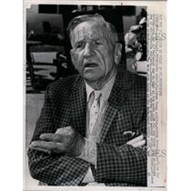 1965 Press Photo Casey Stengel  manager of NY Mets at spring training