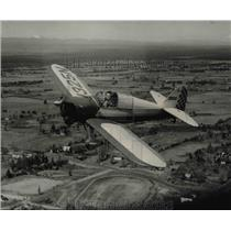 Press Photo One of neatest of Oregon's home built airplanes is Half Nelson.