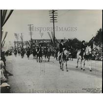 1915 Press Photo Portland Oregon Rose Festival - orc17585