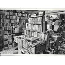 1978 Press Photo H.H. Garritson Bookstore - spa28765