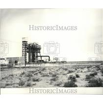 1965 Press Photo Rocket Test Stand Built at Boeing's 100,00 Acre Test Oregon