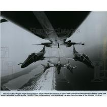 Press Photo Navy's Blue Angels Flight Demonstration Team - spp01102