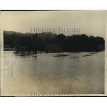 1927 Press Photo Navy wins Sewards Cup crew regatta vs PEnn AC & Princeton