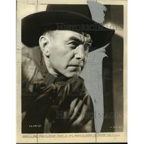 "1935 Press Photo Harry Carey in ""Powdersmoke Range"" - mjx04546"